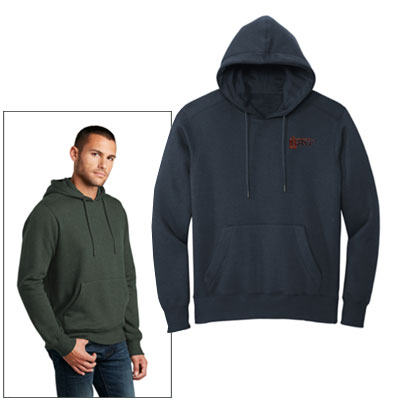 District Perfect Weight Fleece Hoodies