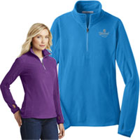 Port Authority Ladies Microfleece 1/2 Zip Pullovers