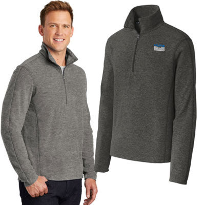 Port Authority Heather Microfleece 1/2 Zip Pullovers