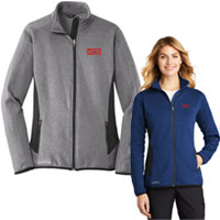 Eddie Bauer Ladies Full Zip Stretch Fleece Jackets