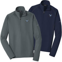 Eddie Bauer 1/2 Zip Smooth Fleece Base Layers