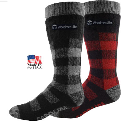 Men's Carolina Wool Socks