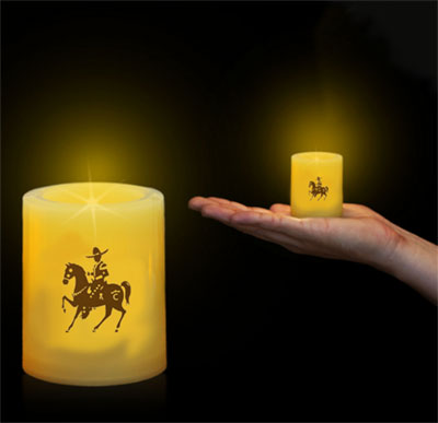 LED Votive Candles - 2.5""