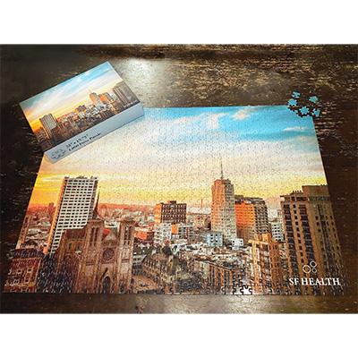 1,000 Piece Puzzles - 28 x 19.5 - with Matching Box
