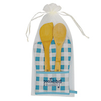 Chef's Pocket Oven Mitt Bamboo Gift Sets