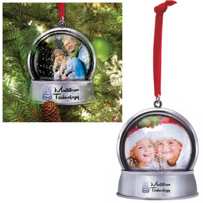 Magnetic Snow Globe Ornaments