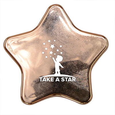 Metallic Star Lip Balm and Mirror
