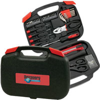 Tool Sets with Bi-Fold Carrying Case