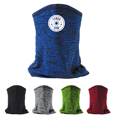 Heathered Cooling Gaiters With Filter
