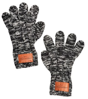 Leeman Heathered Knit Gloves