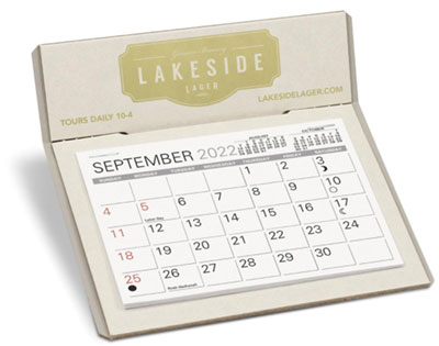 The Natural Desk Calendar