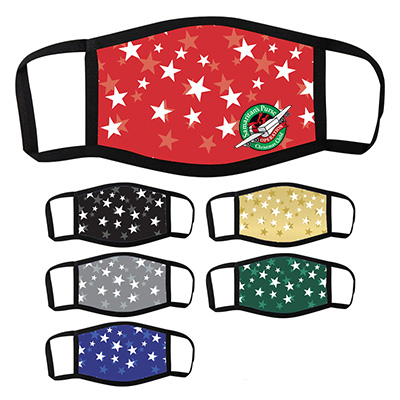 Holiday Themed Face Masks - Stars