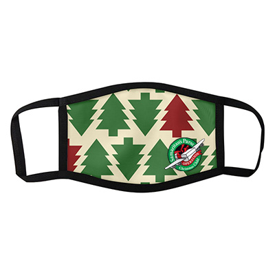 Christmas Themed Face Masks - Trees