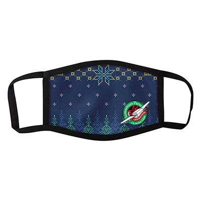 Holiday Themed Face Masks - Ugly Sweater