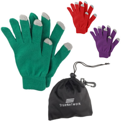 Touch Screen Gloves in a Pouch