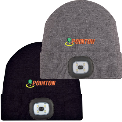 Beanies with LED Light
