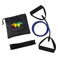 Yoga Stretch Bands in Carry Pouch
