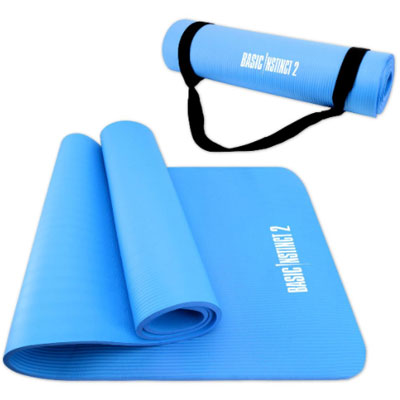 NBR Yoga Mats with Carrying Strap