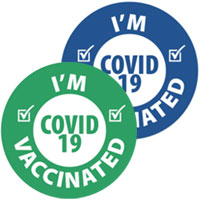 I'm Vaccinated Stickers