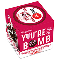 Valentine's Day Hot Chocolate Bomb in Gift Box