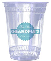 32 oz. Eco-Friendly Clear Plastic Cups
