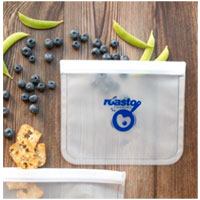 SlipZip Reusable Food Storage Bags - Small