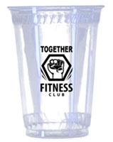 20 oz. Eco-Friendly Clear Plastic Cups