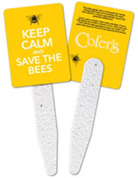 Save the Bees Garden Grow Stick Fans
