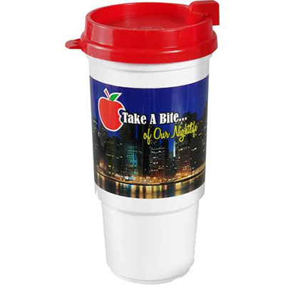 16 oz. Insulated Auto Cup with Full Color Imprint