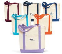 18 x 14 Captain's Boat Tote Bags
