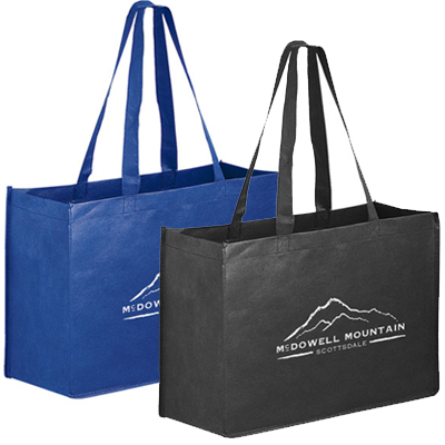 16 x 12 Non-Woven Reusable Shopping Bags