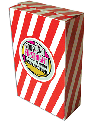 4.5 x 7 Closed Top Striped Popcorn Boxes