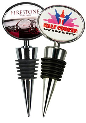 Premium Wine Stopper with Two-Sided Full Color Imprint