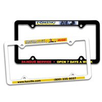 Full Color Thin Panel License Plate Frames