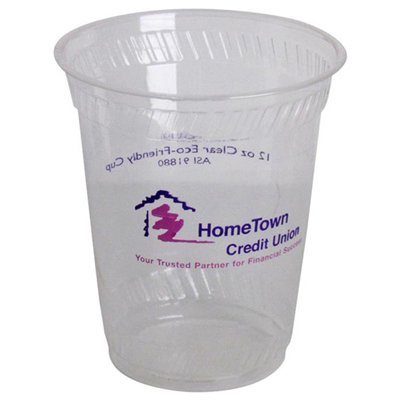 12 oz. Biodegradable Plastic Cups