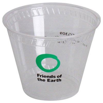 100 Custom 9 oz. Biodegradable Plastic Cups TG310