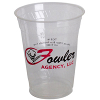 16 oz. Biodegradable Plastic Cups, High Quantity