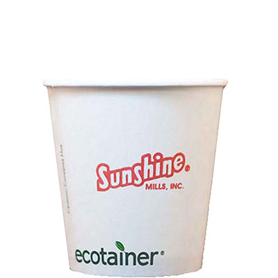 10 oz. Biodegradable Paper Cups