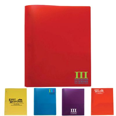 Three Prong Twin Pocket Folder