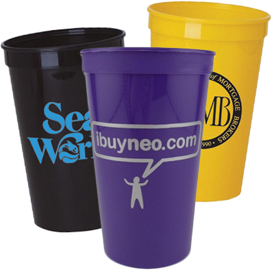 22 oz. Stadium Cups