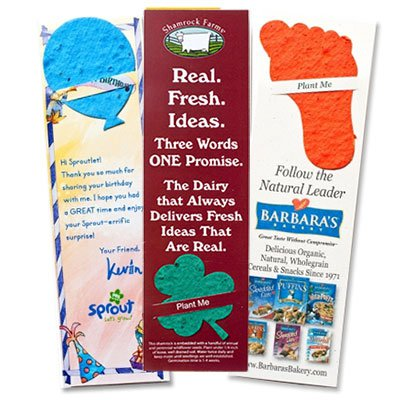 Plantable Bookmarks - Assorted Shapes