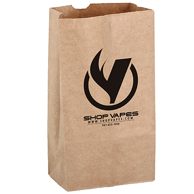 7 x 13 Natural Kraft Paper Grocery Bags