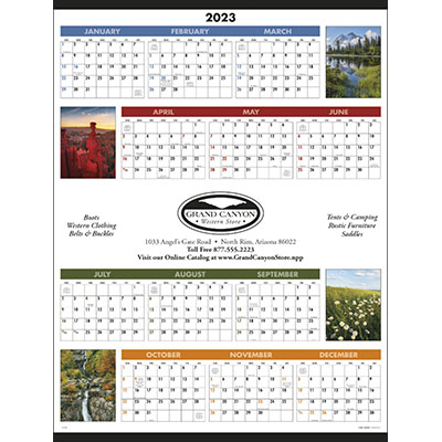 Scenic Span-A-Year Calendars