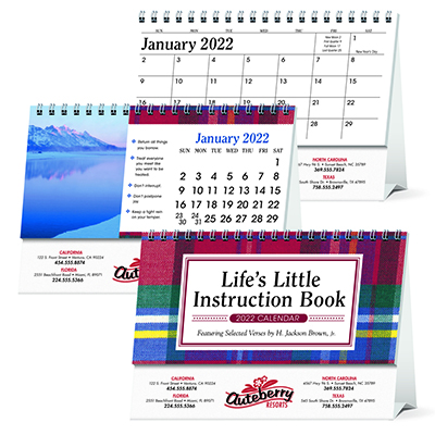 Life's Little Instruction Book Desk Calendar
