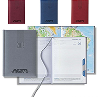Tuscan Tabbed Mid Size Daily Planners