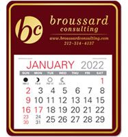 Universal Easy Stick Adhesive Calendars