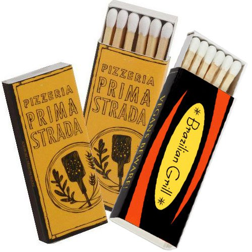 10-Strike Matchboxes