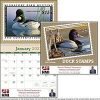 Duck Stamp 12 Month Art Calendars