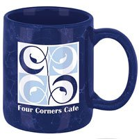 11 oz. Marble Ironstone Ceramic Mugs