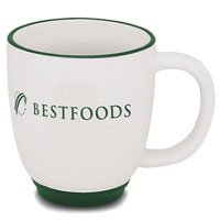 14 oz. Two-Tone Ceramic Bistro Mugs